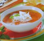 Sopa fria de papaia