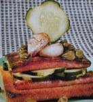 Bifes de fiambre com pepino 1
