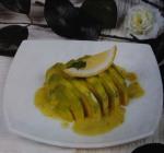 Abacate ao vinagrete