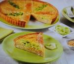 Quiche de lentilhas e queijo