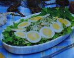 Salada de bacalhau cru