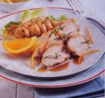 Peito de frango com laranja
