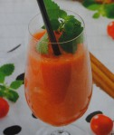 Bebida de tomate com meloa